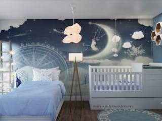 Studio MP Interiores Modern nursery/kids room