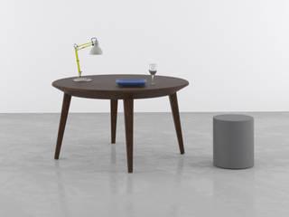 Fardo | Tavolo rotondo allungabile | Round extensible table di Piemy Moderno