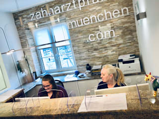 Zahnarztpraxis und Co. Modern Walls and Floors