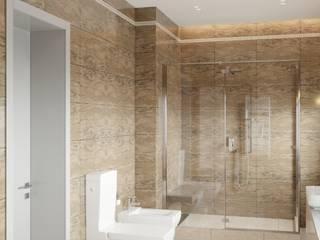 Интерьеры загородного дома Ванная комната в стиле минимализм от Lierne design Минимализм