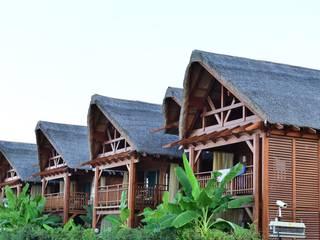 Antalya Ahşap Otel Projesi Çağlar Wood House Modern