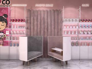 Дизайн интерьера для торговых площадей Офисы и магазины в азиатском стиле от iDesign студия дизайна интерьера Ирины Бобровской Азиатский