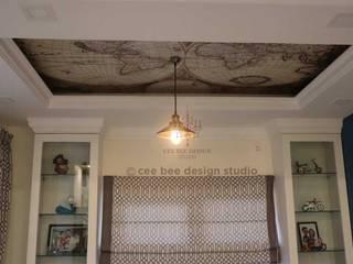 Modern living room by Cee Bee Design Studio Modern