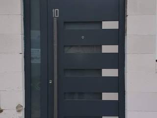 1001-Tuer.de Modern style doors Grey
