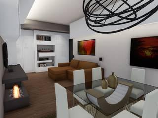 Residenziale - DESIGN, ELEGANZA E... PRATICITA' Luca Palmisano Architetto Soggiorno moderno