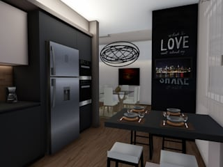 Residenziale - DESIGN, ELEGANZA E... PRATICITA' Luca Palmisano Architetto Cucina moderna