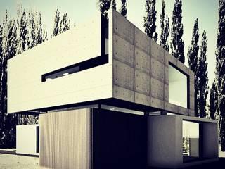 Minimalist house by EFE ARQUITECTURA Minimalist