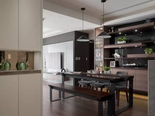 時尚系列 KRONOTEX德國高能得思地板 廚房儲櫃 複合木地板 Brown