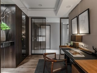 時尚系列 KRONOTEX德國高能得思地板 書房/辦公室桌子 複合木地板 Brown