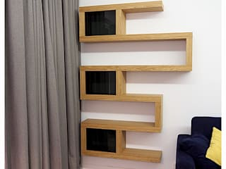 Cellaio - zestaw półek na książki od Cellaio - półki na książki Minimalistyczny