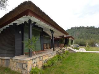 3+1 Ahşap Ev Projesi Çağlar Wood House Klasik