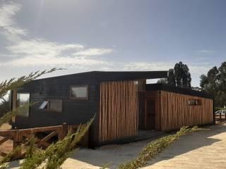 VIVIENDA, ALTO LAUQUEN , PICHILEMU Casas de estilo mediterráneo de KIMCHE ARQUITECTOS Mediterráneo