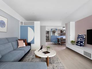 知域設計 Living room Pink