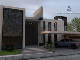 Casa Moderna de PARMAR Arquitectura Moderno