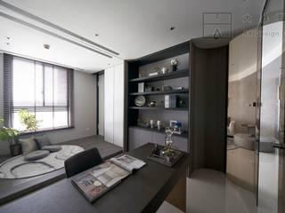 大器聯合室內裝修設計有限公司 Scandinavian style study/office