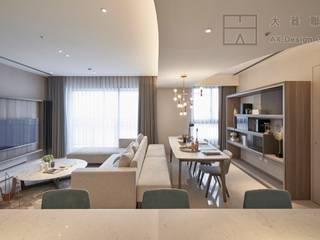 大器聯合室內裝修設計有限公司 Scandinavian style dining room