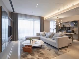 大器聯合室內裝修設計有限公司 Scandinavian style living room