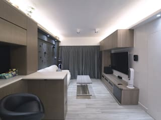 cozzy simple style muji Modern living room by Know Design Modern