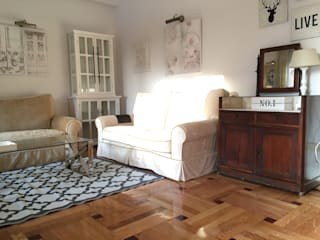 Rejuvenece tu casa, conviertiéndola en un hogar acogedor Ismael Blázquez | MTDI ARQUITECTURA E INTERIORISMO Salones de estilo clásico Madera Beige