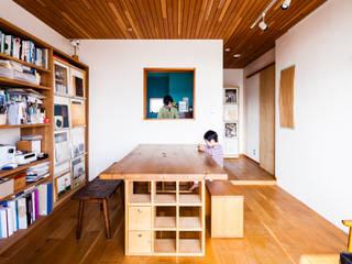 一色の家(リノベーション) 北欧デザインの ダイニング の a.un 建築設計事務所 北欧