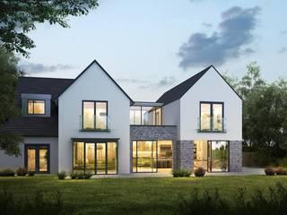 Mirror House Modern houses by Artform Architects Modern