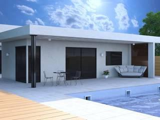 Rendering esterni Fotorealistici di Agenzia Rendering 3D - W & E srl Moderno