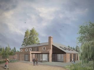 Oak Villa Farm by Artform Architects Country