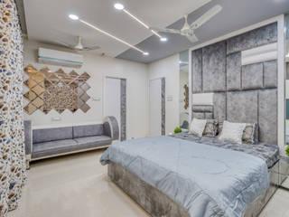 KLP Abhinandan apartments, Chennai HomeLane.com Small bedroom