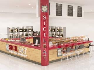 Rendering Locali Commerciali Centri commerciali moderni di Agenzia Rendering 3D - W & E srl Moderno