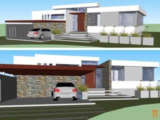 Vivienda en Carrodilla Casas modernas: Ideas, imágenes y decoración de Claudia Di Matteo Arq Moderno
