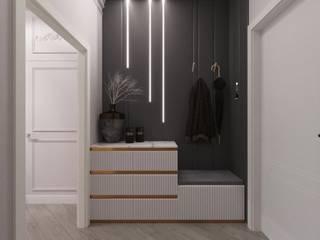 Дом №7 Современная классика Коридор, прихожая и лестница в классическом стиле от ReinaDesignGroup Классический