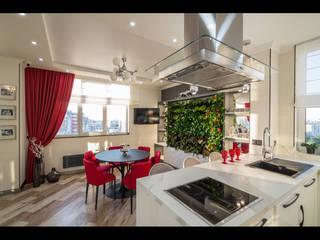 Кухни в эклектичном стиле от ReinaDesignGroup Эклектичный