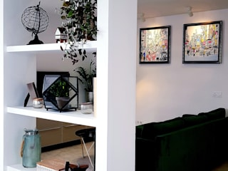 REFORMAS LUJAN Dinding & Lantai Minimalis Batu Bata White