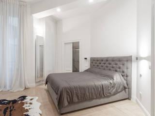 Ristrutturazione appartamento Via Mameli - Milano Camera da letto moderna di CasaProgettata.it Moderno