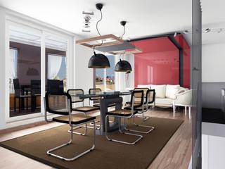 Il SUPER superattico Sala da pranzo moderna di FAD Fucine Architettura Design S.r.l. Moderno
