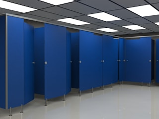 TABIQUES Y TECNOLOGIA MODULAR S.L BathroomToilets OSB Blue