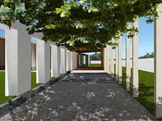 Casa experimental de Taipa e Bambo para Luanda por Jorge Cruz Pinto + Cristina Mantas, Arquitectos