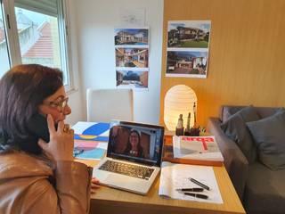 Modern study/office by Viviane Cunha Arquitectura Modern