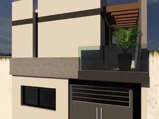 CASA HABITACIÓN B.G. - AMPLIACIÓN DE PLANTA ALTA de V+C Arquitectura Moderno