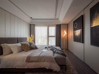 Modern style bedroom by 雅群空間設計 Modern