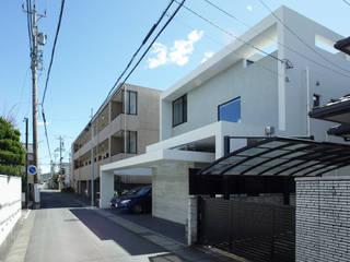 portal patio モダンな 家 の 一級建築士事務所 青木設計事務所 モダン