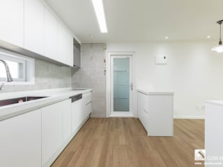 곤디자인 (GON Design) Kitchen units White