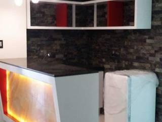 Eika Design Ruang Penyimpanan Wine/Anggur Modern MDF Multicolored