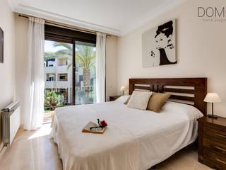 Home Staging en un Apartamento Vacacional en Murcia Domo Home Staging Dormitorios de estilo moderno