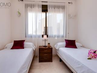 Home Staging en Vivienda a la Venta en Alicante Domo Home Staging Dormitorios de estilo moderno