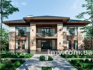 Индивидуальный проект особняка 600 м2 от TMV Architecture company