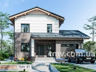Проект двухэтажного дома с террасой TMV 97 от TMV Architecture company
