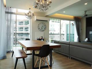 Armanee Terrace II Infinite Intelligence Sdn Bhd Modern dining room