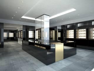 DUOLAB Progettazione e sviluppo Offices & stores Copper/Bronze/Brass Black