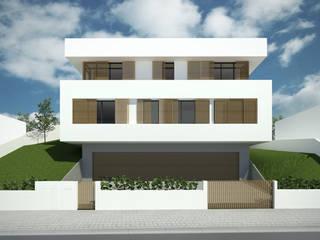 Moradia unifamiliar Casas modernas por meta.atelier Moderno